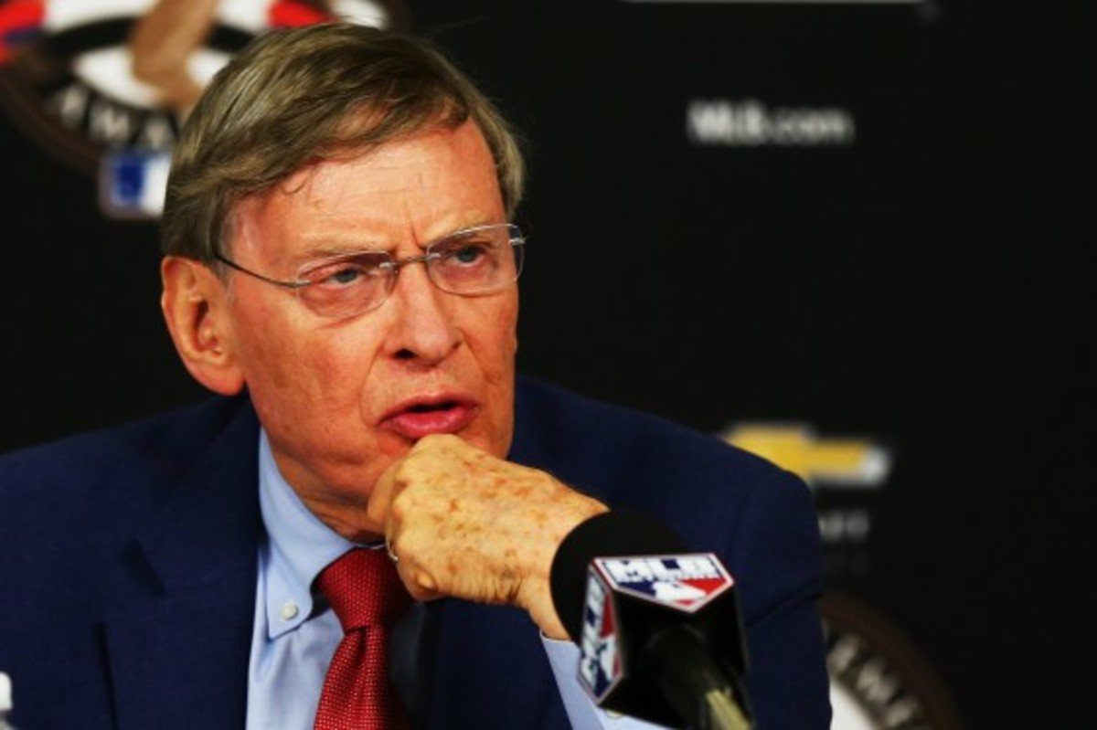 Bud Selig is set to retire after this season, two years before the league's drug agreement with its players expire. (Elsa/Getty Images)