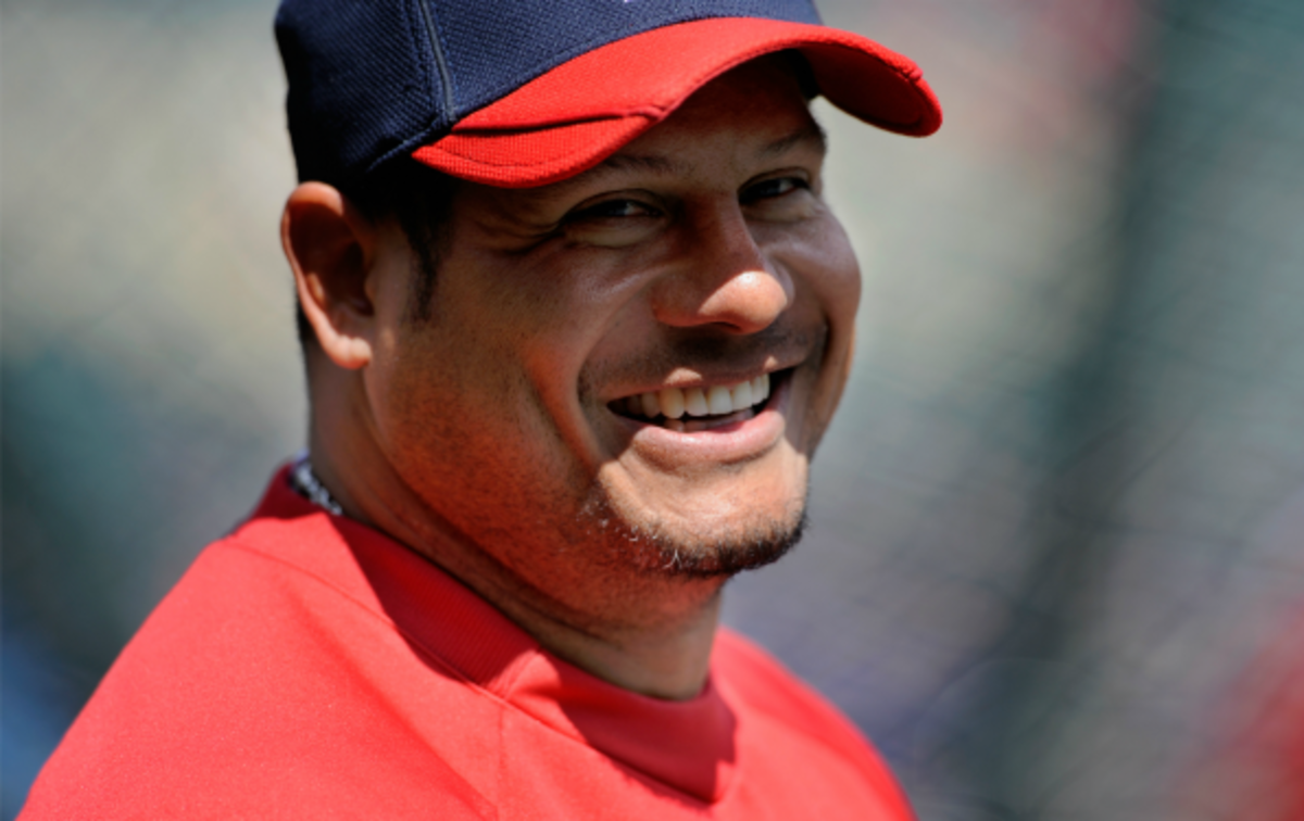 Bobby Abreu has a career on-base percentage of .395. (Hannah Foslien/Getty Images)