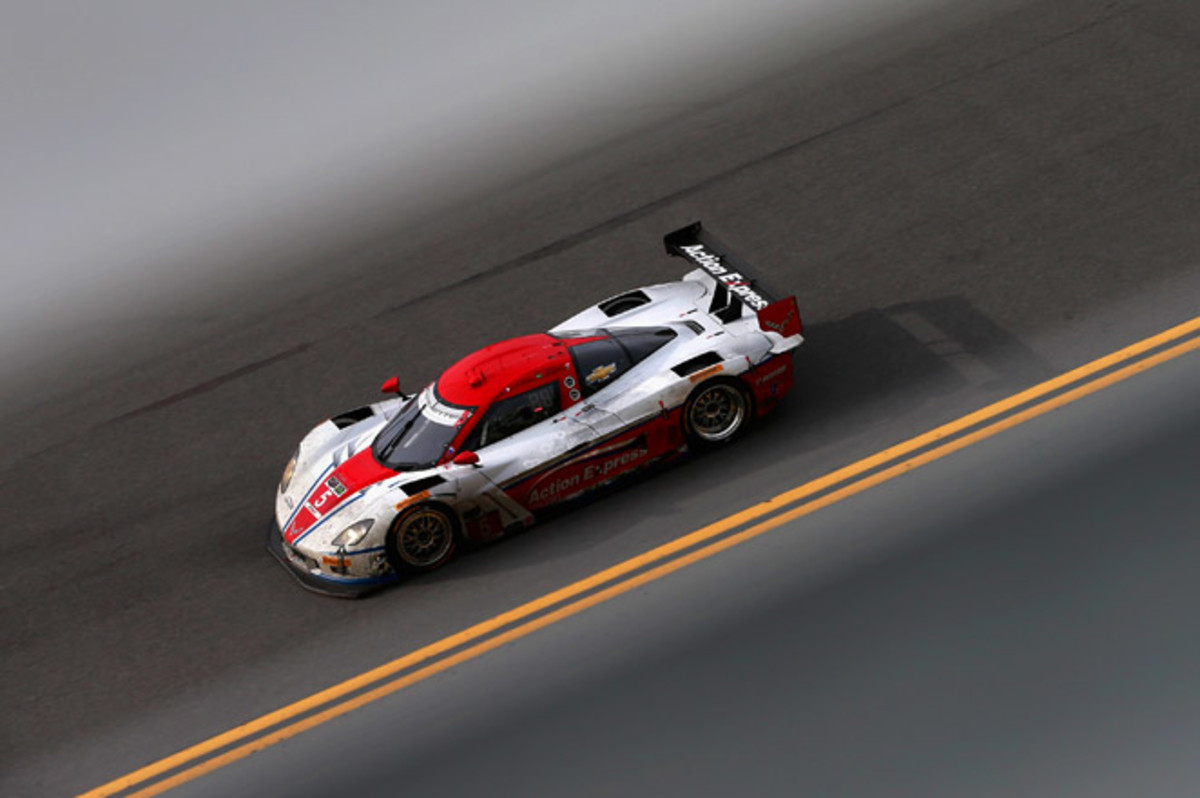 Joao Barbosa led Action Express Racing to its second win at Rolex 24 in four years.