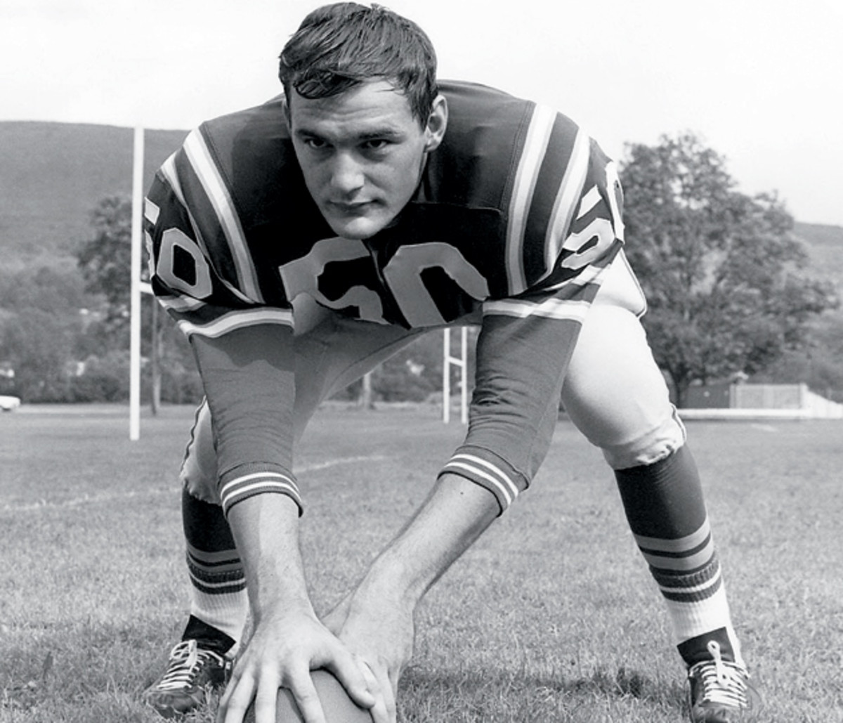 Reily became the starting center and inside linebacker in 1961 on the first day of sophomore practice.