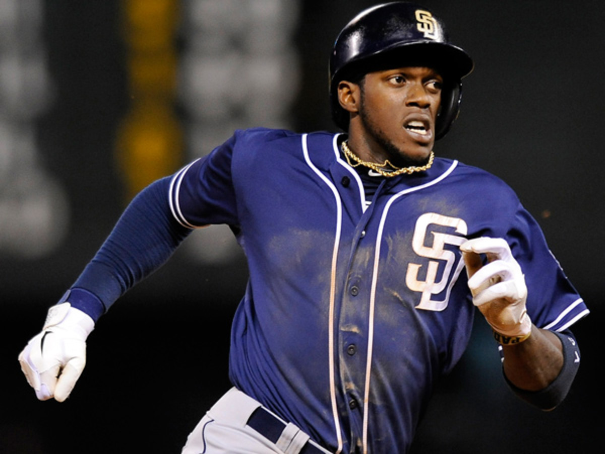Cameron Maybin will be out for at least two weeks thanks to a ruptured biceps tendon. (Chris Schneider/AP