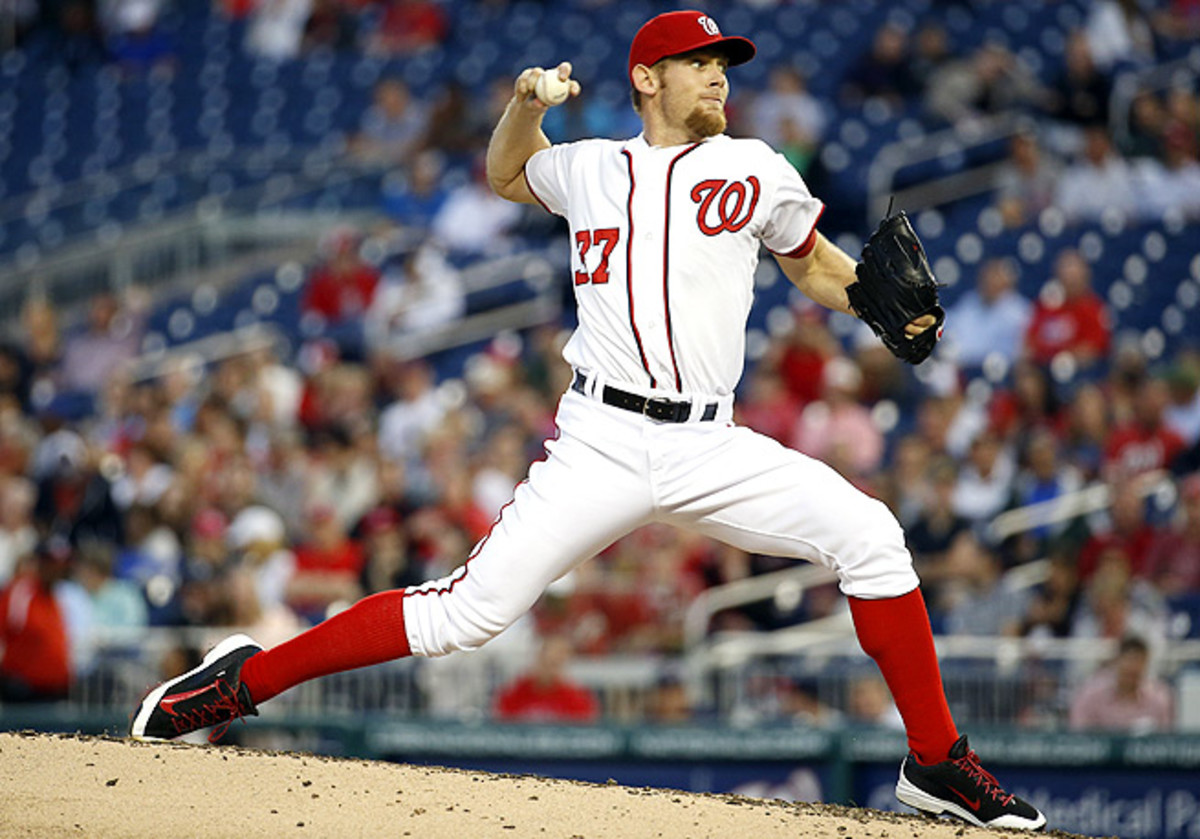 Stephen Strasburg has a .359 BABIP -- the second-highest in the league behind Jordan Zimmermann.