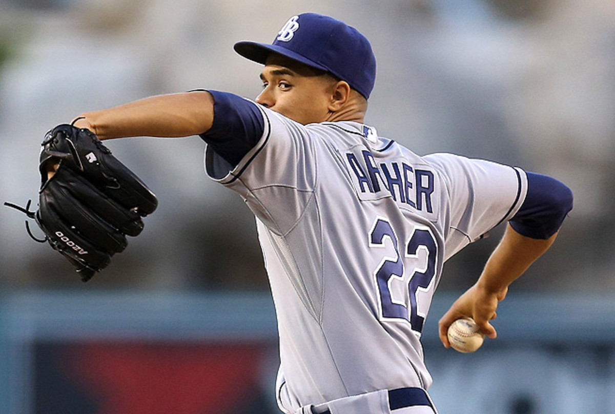 Chris Archer has struggled with walks this season, already issuing 26 free passes in 63 inning pitched.