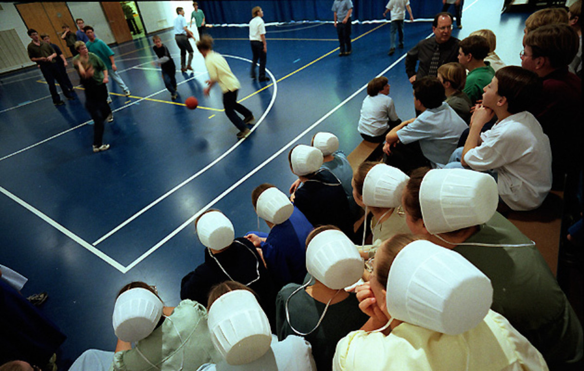 Reese used basketball to bridge the gap between Amish traditions and those of the modern world.