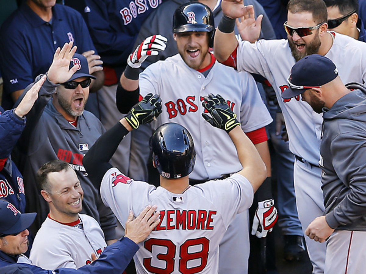 Grady Sizemore had a positive return to the big leagues with a homer against the Orioles. (Patrick Semansky/AP)