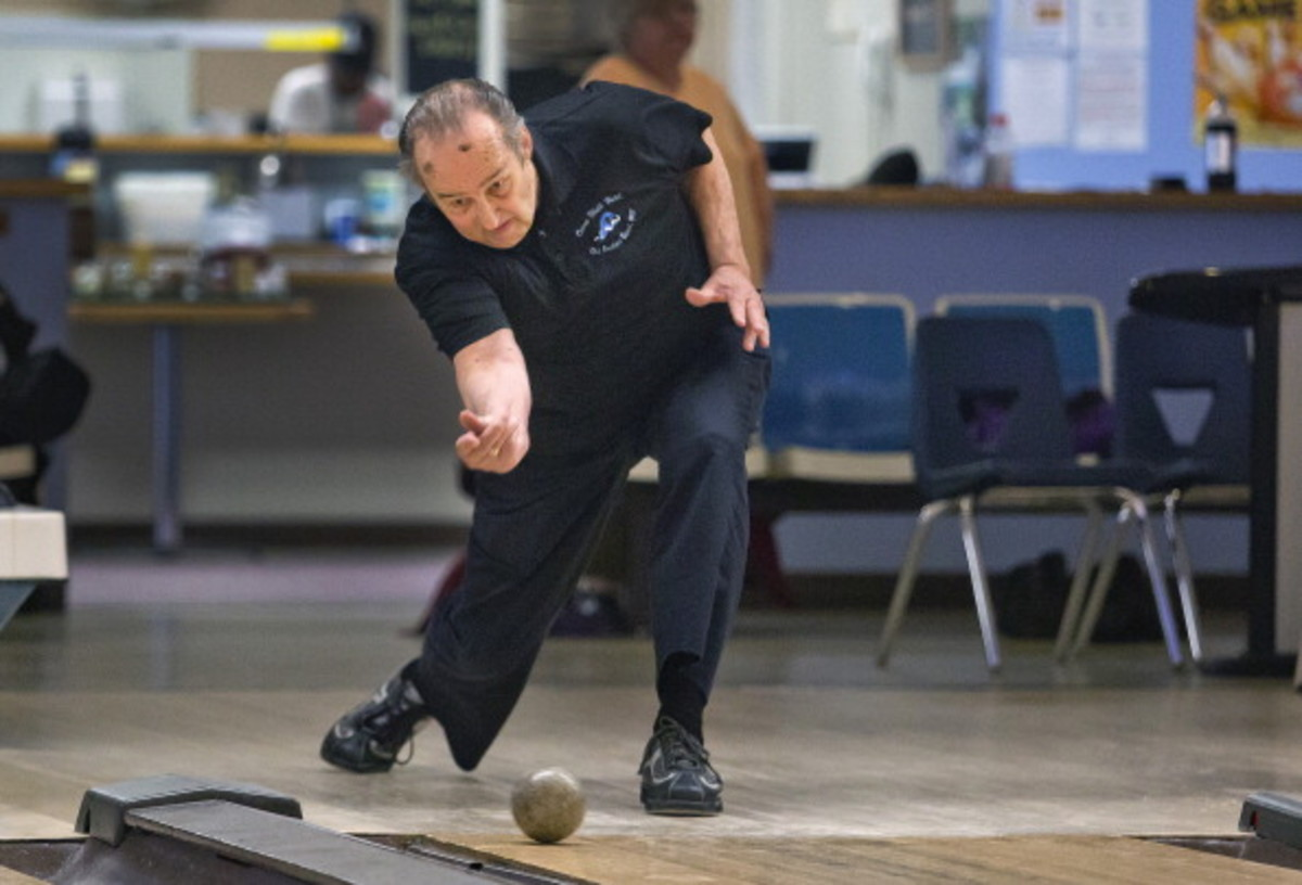 Don Saucier of Old Orchard Beach is a 5-time World Champion Candlepin Bowler