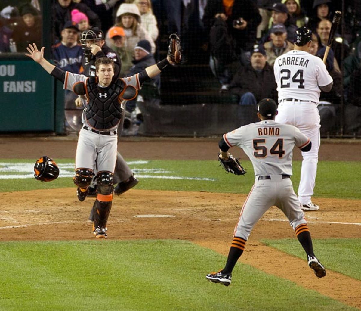 Giants defeat Tigers, 4-0