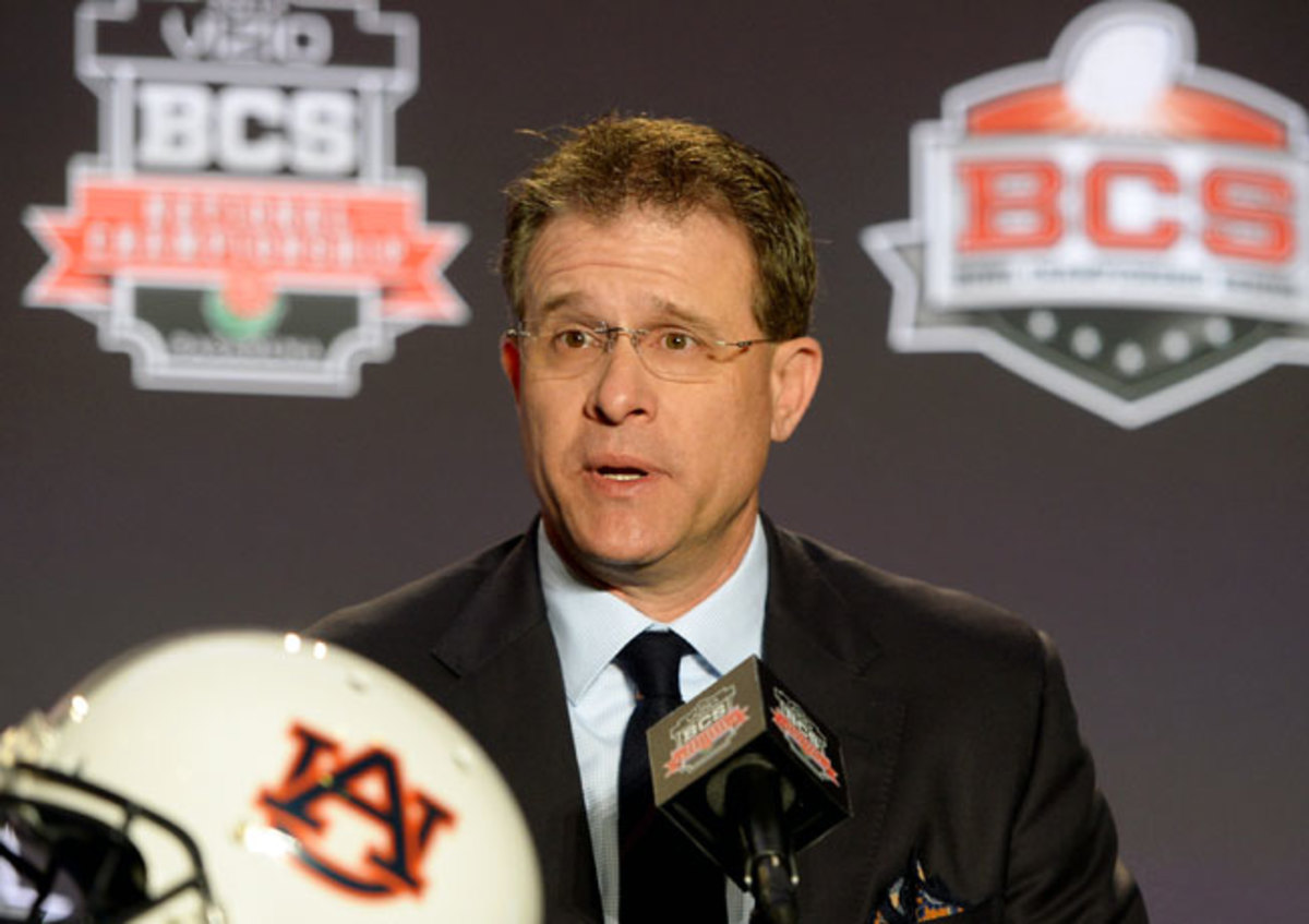 A longtime high school coach, Gus Malzahn will lead Auburn in the national title game on Monday night.