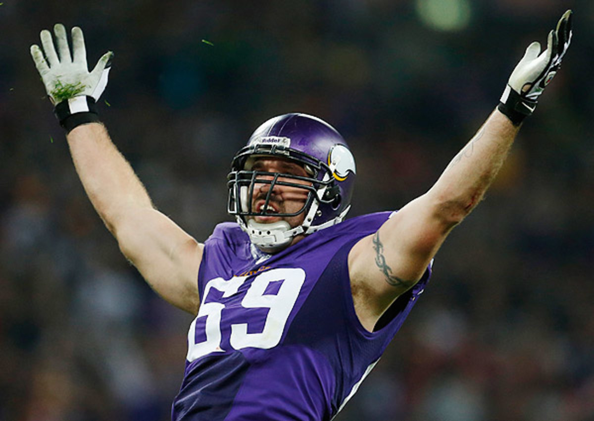 Jared Allen is set to be a free agent this spring after six seasons in Minnesota.