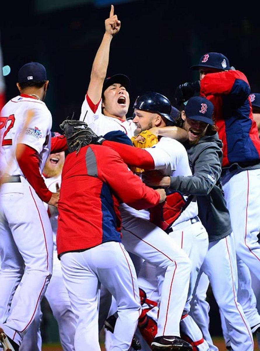 Red Sox defeat Cardinals, 4-2