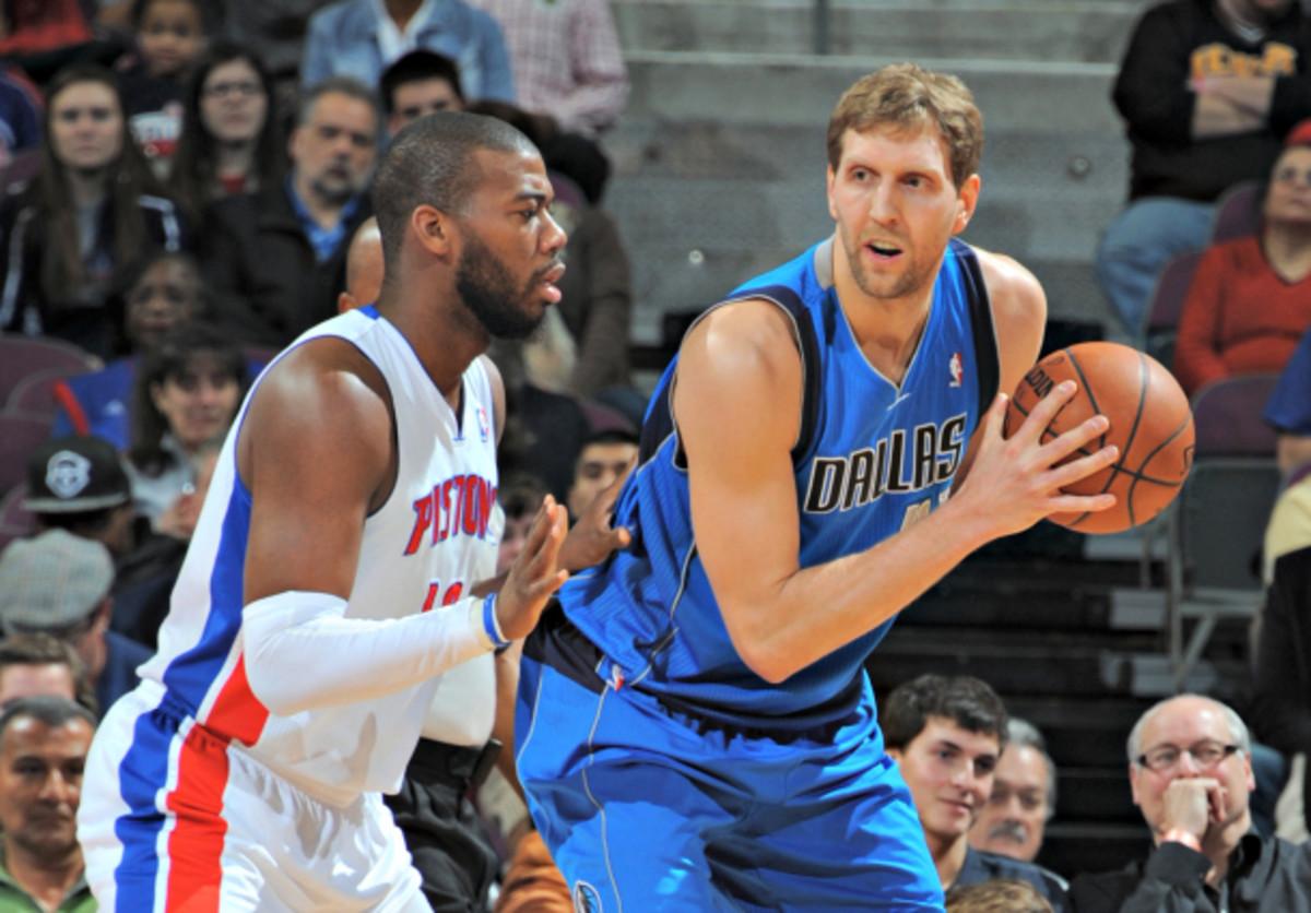 Few shot creators in the league avoid turnovers like Dirk Nowitzki. (Allen Einstein/NBAE via Getty Images)