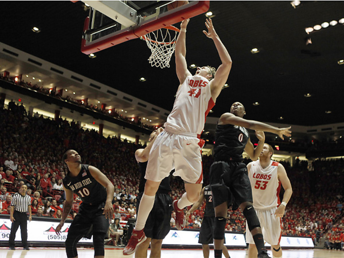 Cameron Bairstow has established himself as one of the best players in the Mountain West Conference. (Aaron Sweet/Getty Images)