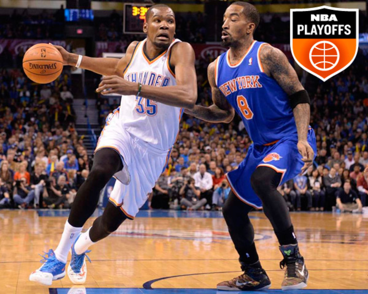 Kevin Durant; J.R. Smith