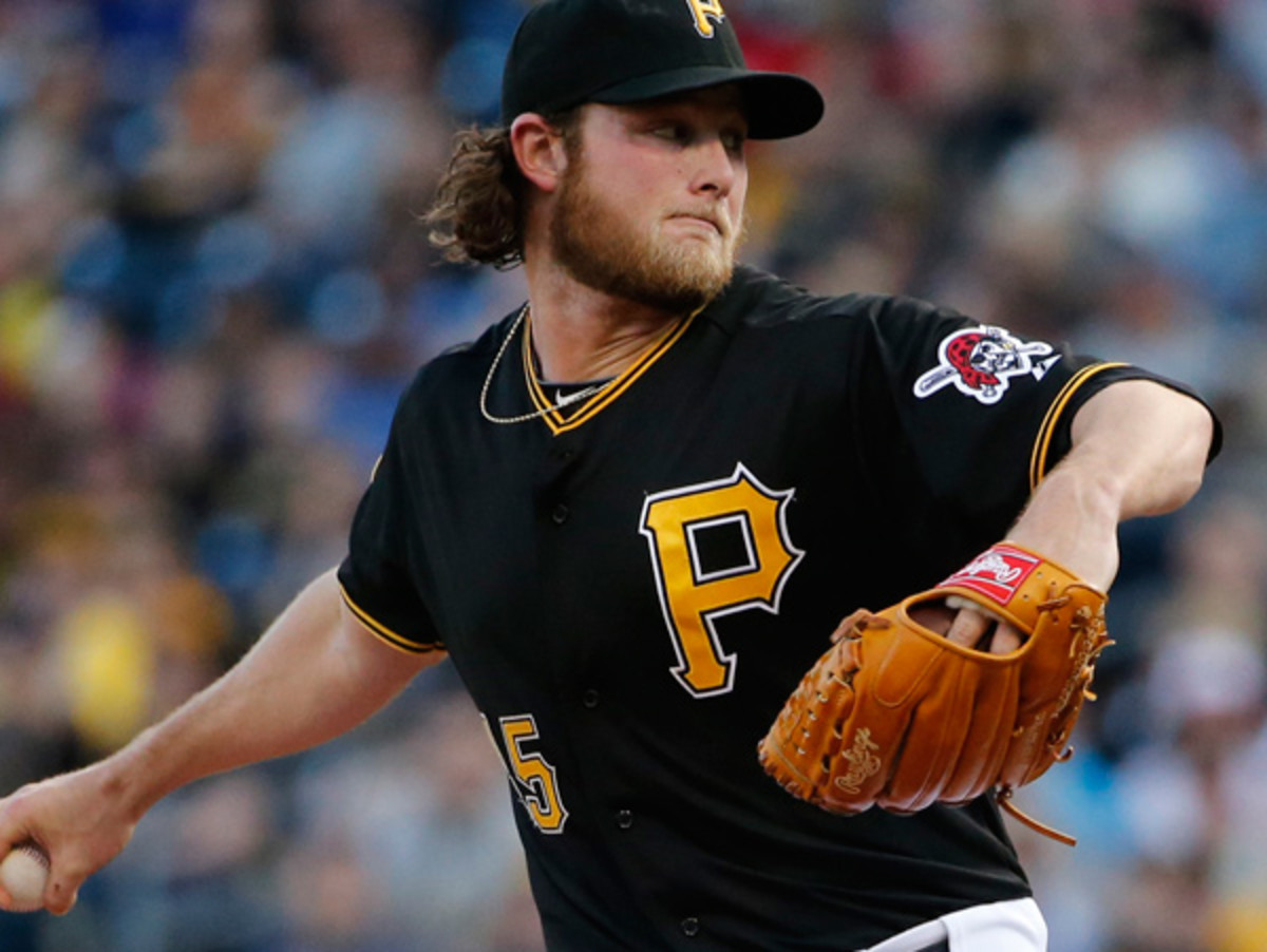 Gerrit Cole will head to the disabled list thanks to fatigue in his pitching shoulder. (Gene J. Puskar/AP)