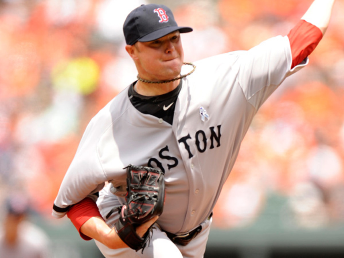 Jon Lester will be on the mound for the Red Sox against the Orioles. (Mitchell Layton/Getty Images)