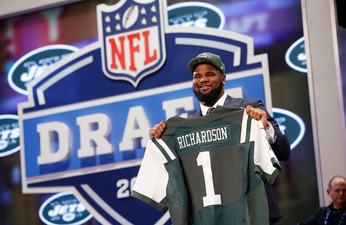 Sheldon Richardson, who the Jets originally selected 13th, finished with 15.5 tackles for loss, 33 QB pressures.