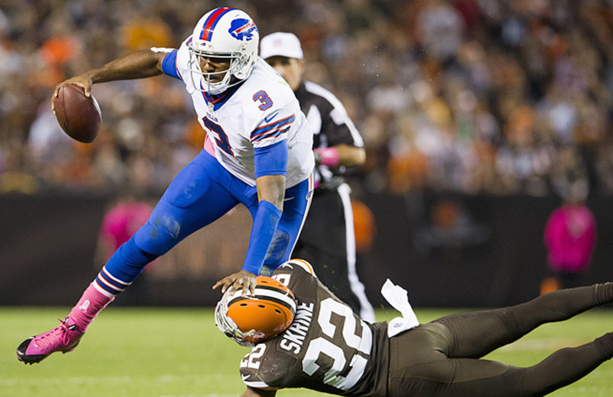 EJ Manuel, the Bills' No. 16 pick, played only 10 games in an injury-marred rookie season.