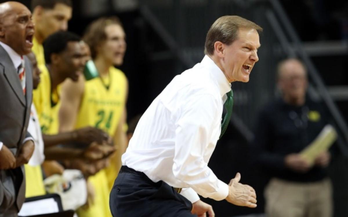 Dana Altman has a career record of  487280 in 25 seasons as a college coach. (AP Photo/Chris Pietsch)