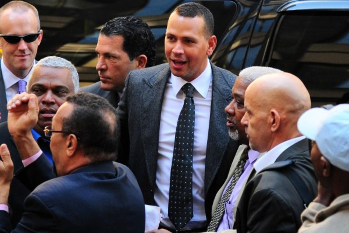 Alex Rodriguez (Raymond Hall/Getty Images)