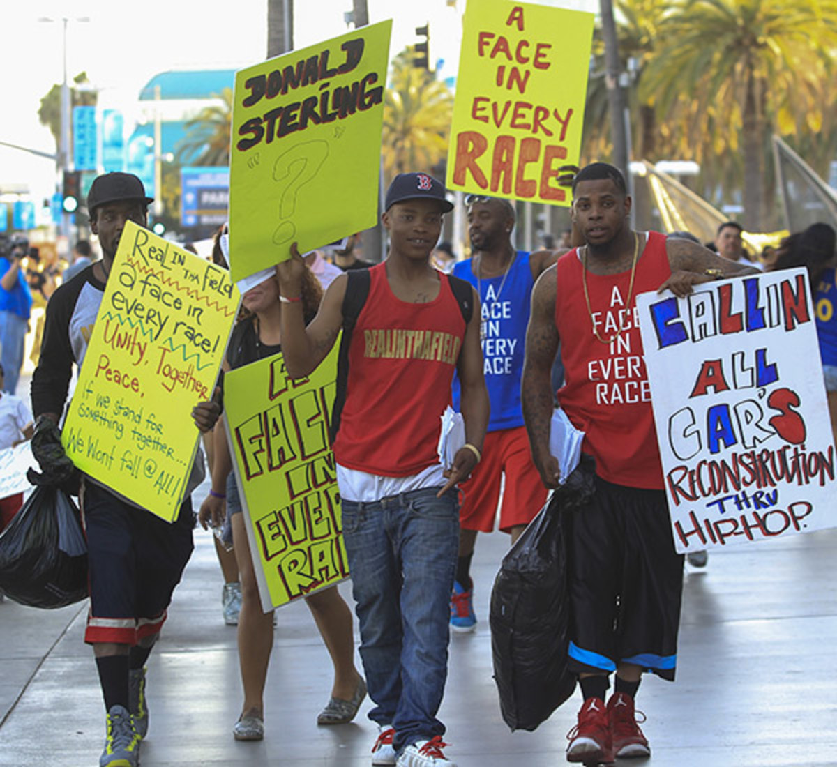 Los Angeles Clippers fans (Ringo H.W. Chiu/AP)