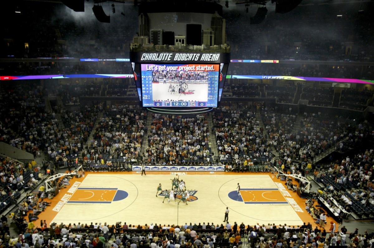 Boston Celtics v Charlotte Bobcats