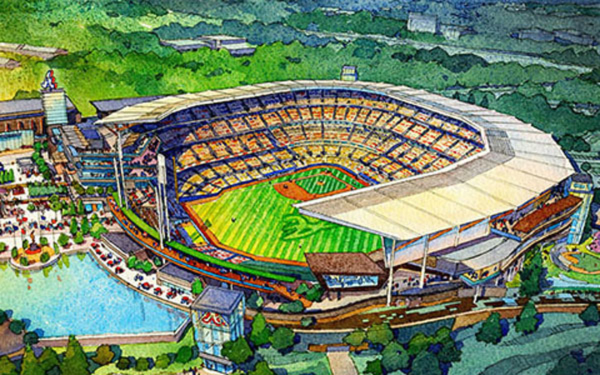 New Atlanta Braves stadium