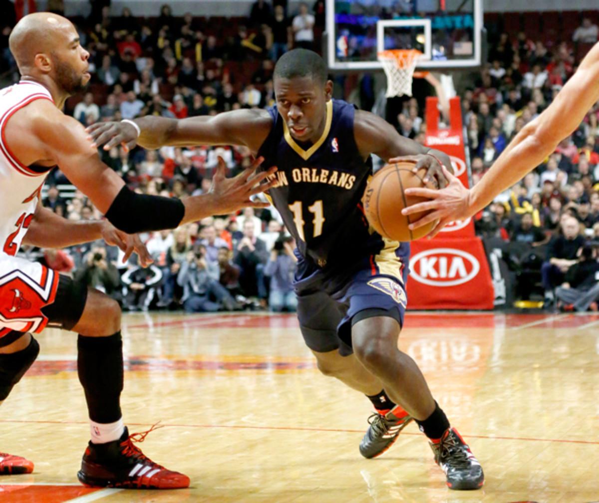 New Orleans Pelicans guard Jrue Holiday is married to U.S. women's national team midfielder Lauren Holiday.