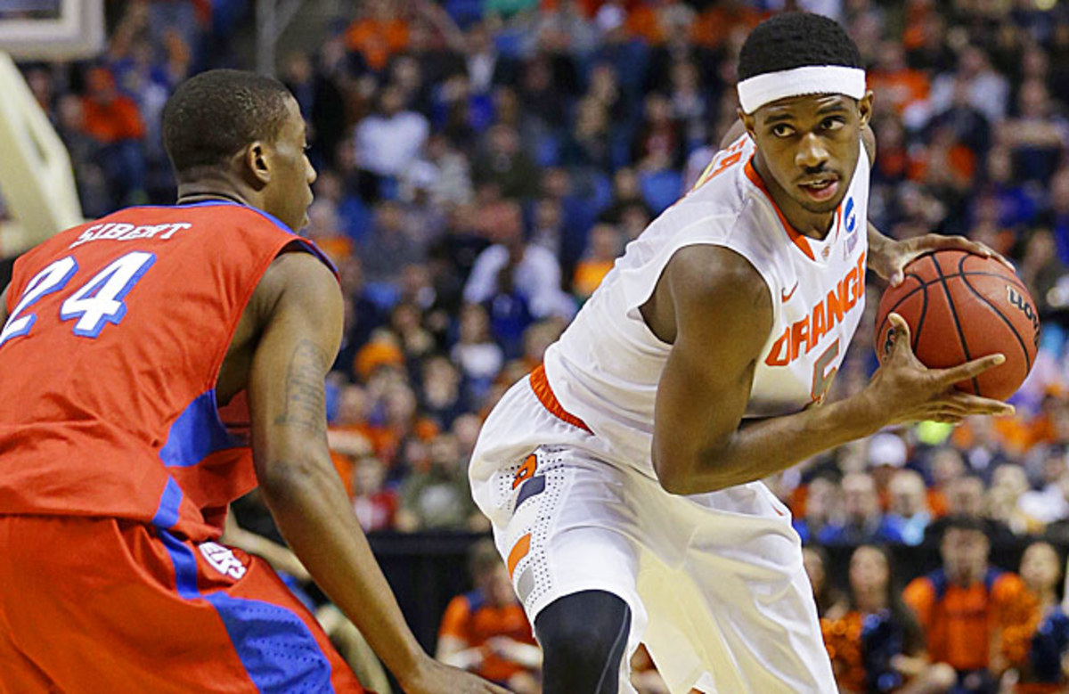 Former Syracuse star forward C.J. Fair is hoping to improve his stock during the NBA's predraft process.