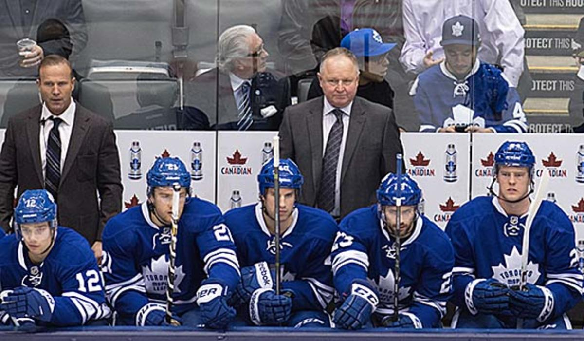 Randy Carlyle and the Toronto Maple Leafs