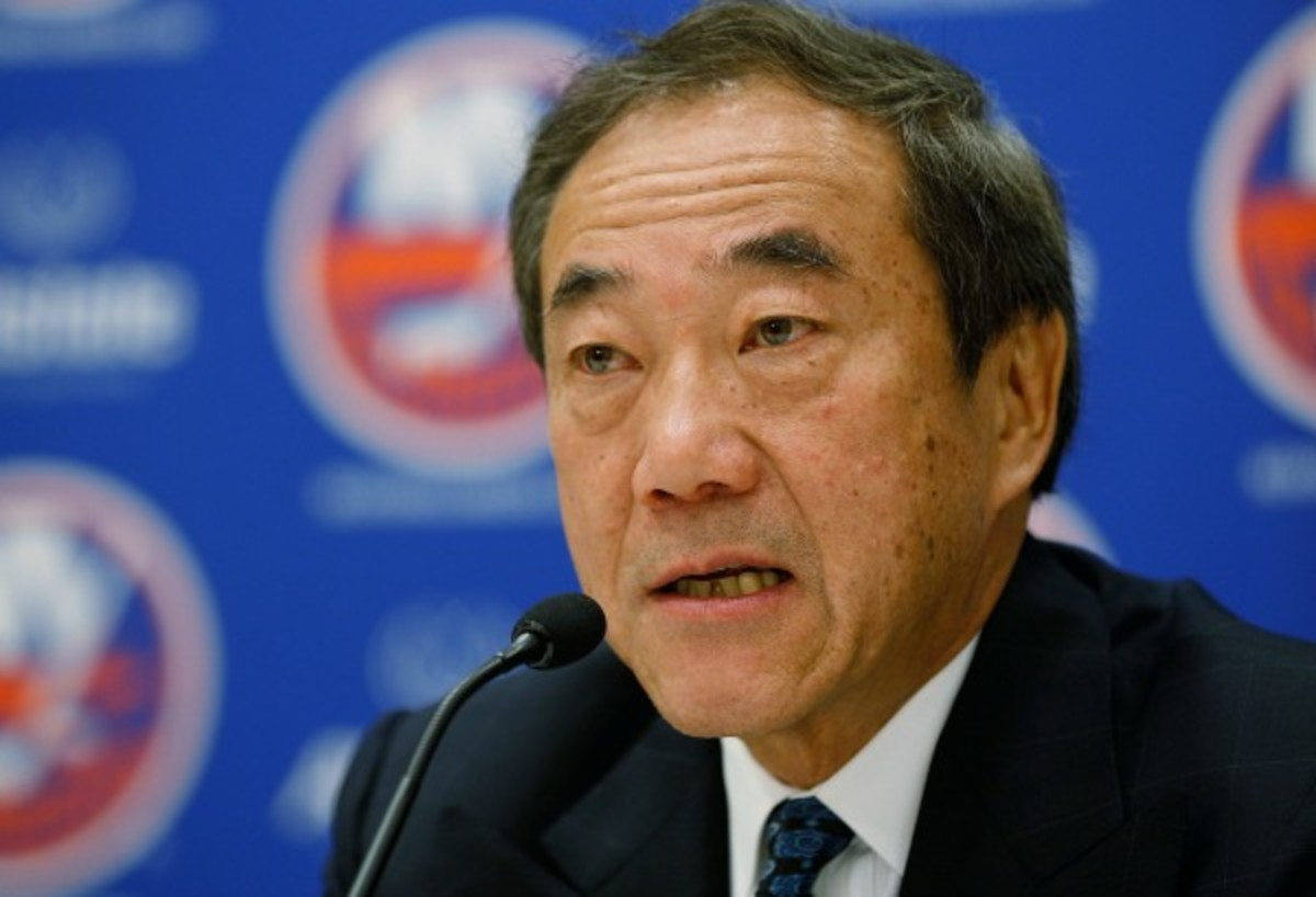 Charles Wang has been linked to previous attempts to sell the Islanders. (Mike Stobe/Getty Images)