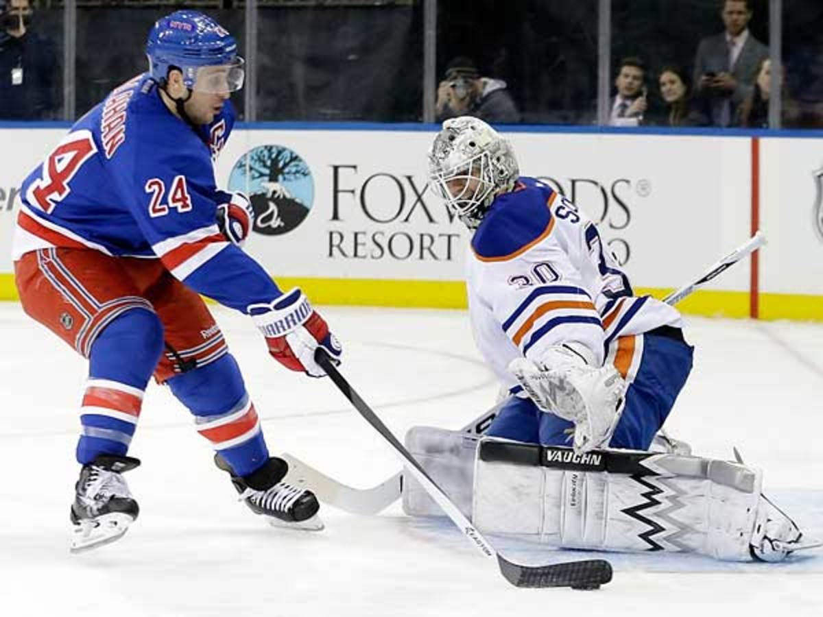 The Rangers could be trading captain Ryan Callahan (24) to the Lightning. (AP Photo/Frank Franklin II)