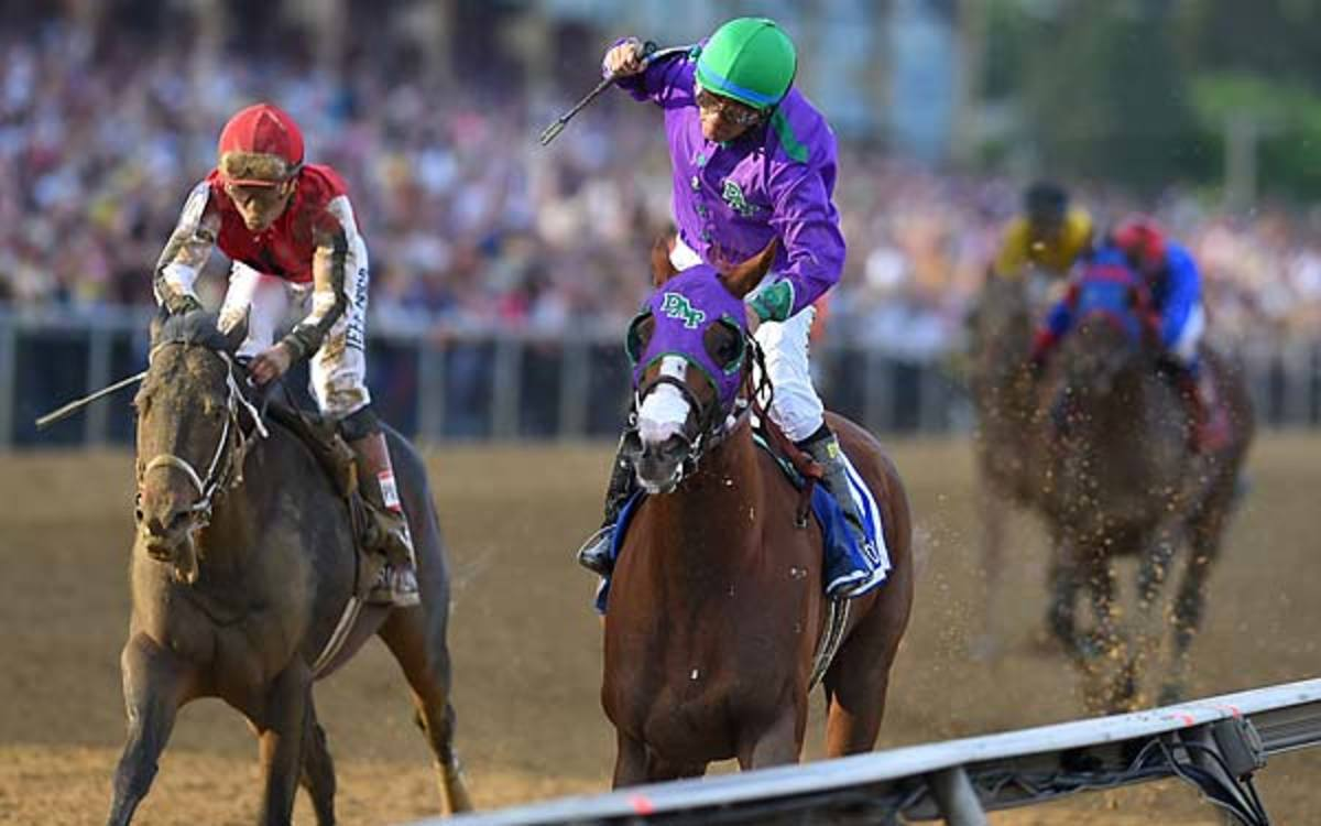 Preakness Stakes champion California Chrome can join list at Belmont Stakes