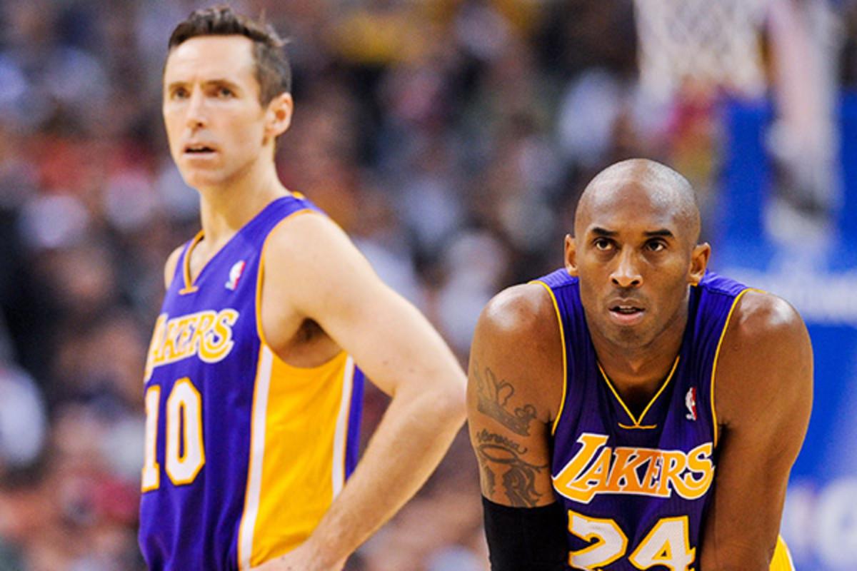 Steve Nash, Kobe Bryant