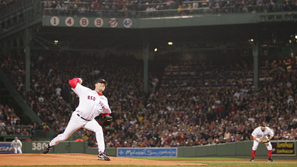 Curt Schilling's courage was one of the hallmarks of the '04 Red Sox.