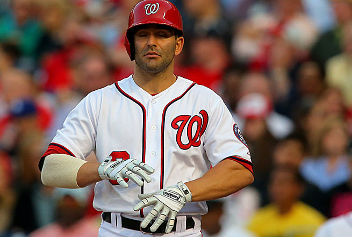 Danny Espinosa takes more than 27 seconds between pitches, and that isn't even the majors' slowest time.