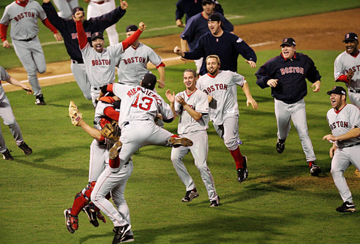 Red Sox win 2004 World Series