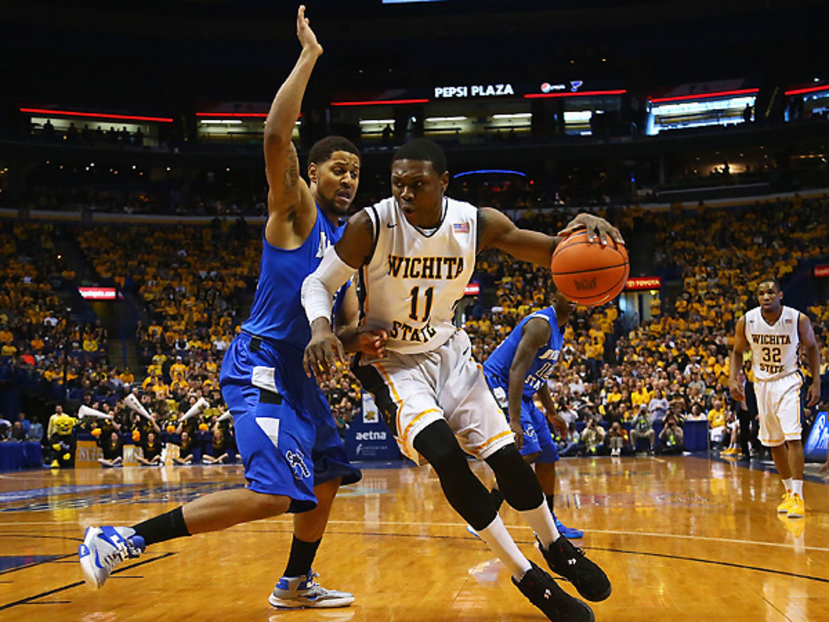 Cleanthony Early (11) and Wichita State toughed out a strong MVC title win over Indiana State. (Dilip Vishwanat/Getty Images)