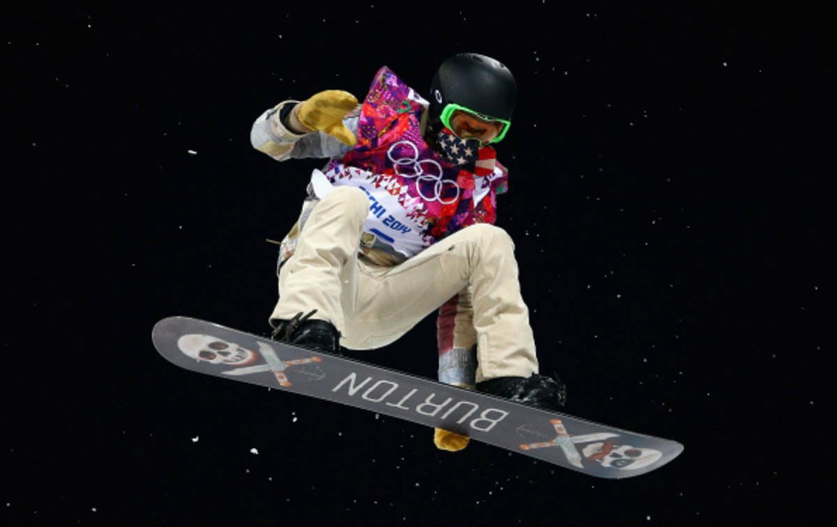 Shaun White has won gold twice on the halfpipe at the Olympics. (Cameron Spencer/Getty images)
