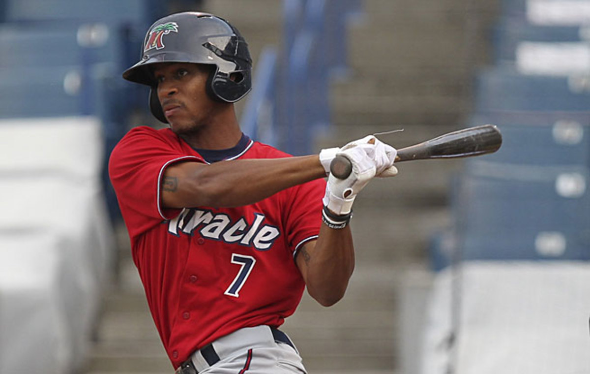 Byron Buxton, the No. 2 pick in the 2012 draft, projects as a future star for the Twins.