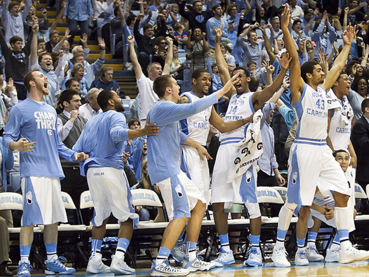 North Carolina is now one of the most feared teams in the ACC after a sluggish start to the year. (MCT via Getty Images)