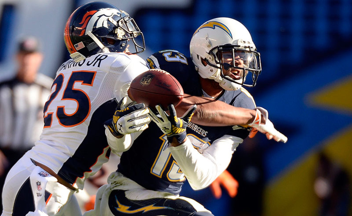 Undrafted coming out of Kansas in 2011, Broncos defensive back Chris Harris Jr. has developed into one of the NFL's most versatile defenders. (John Leyba/Getty Images)