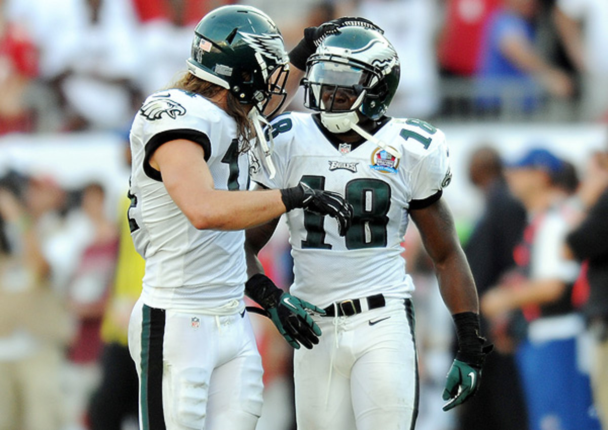 Philadelphia Eagles to re-sign Riley Cooper, Jeremy Maclin, per report