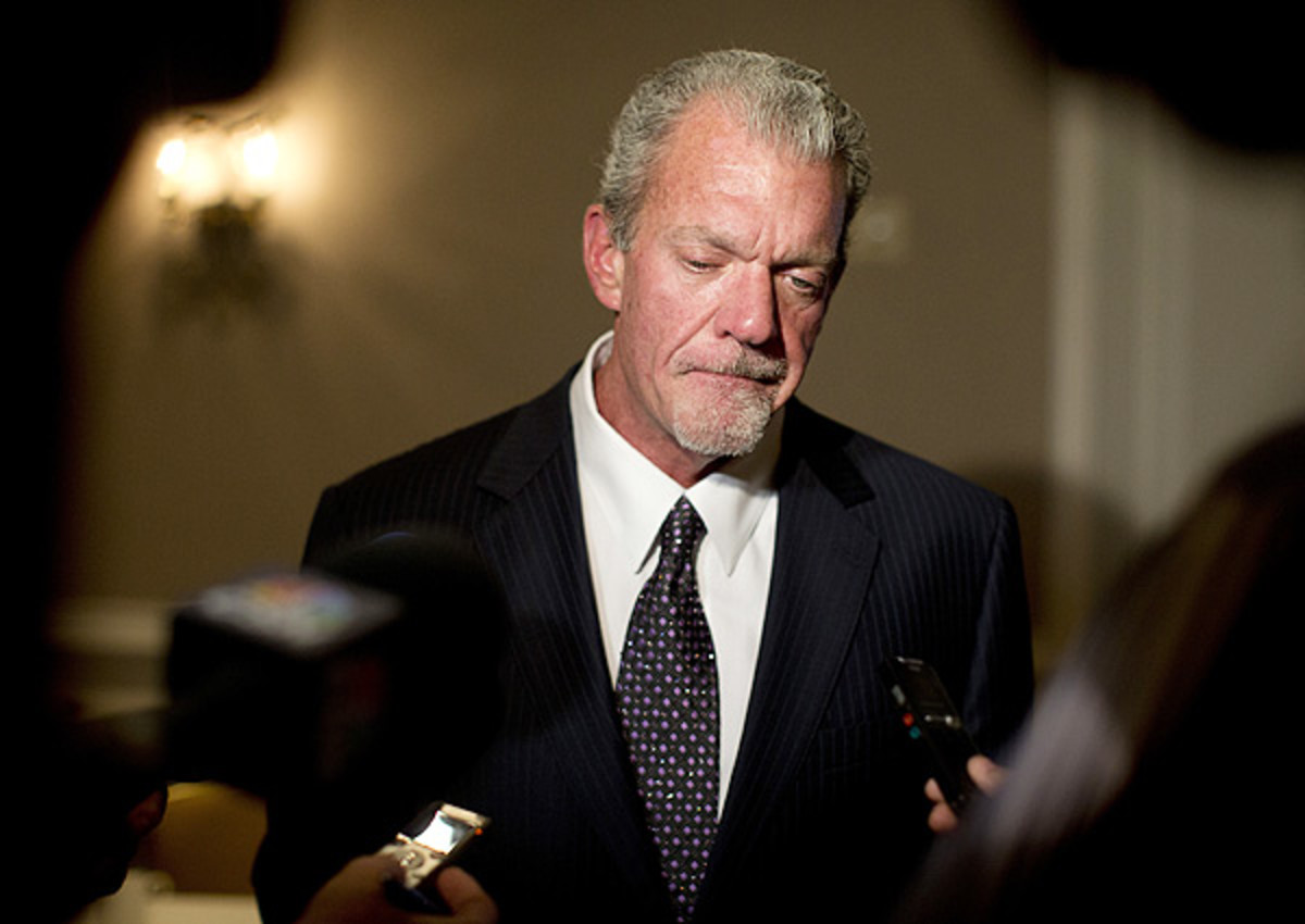 Jim Irsay, Indianapolis Colts owner, has driver's license suspended for one year