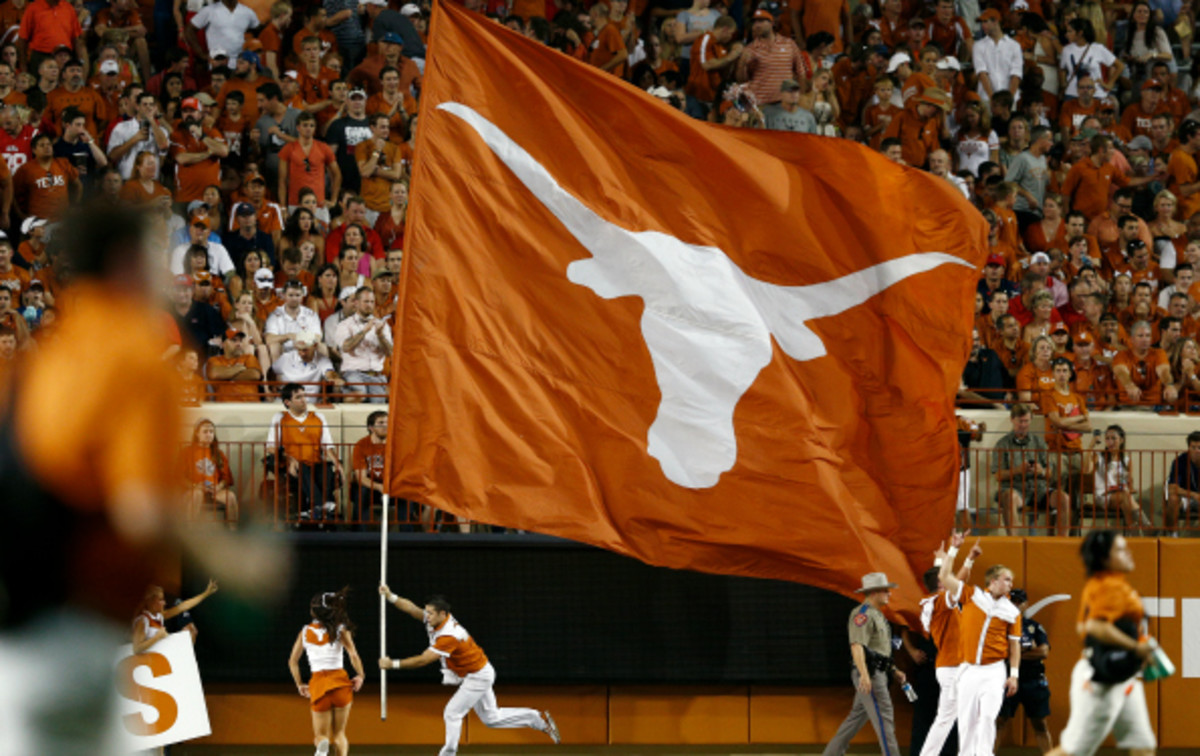 Texas Booster Red McCombs has previously owned the San Antonio Spurs and Minnesota Vikings. (Joe Robbins/Getty Images)