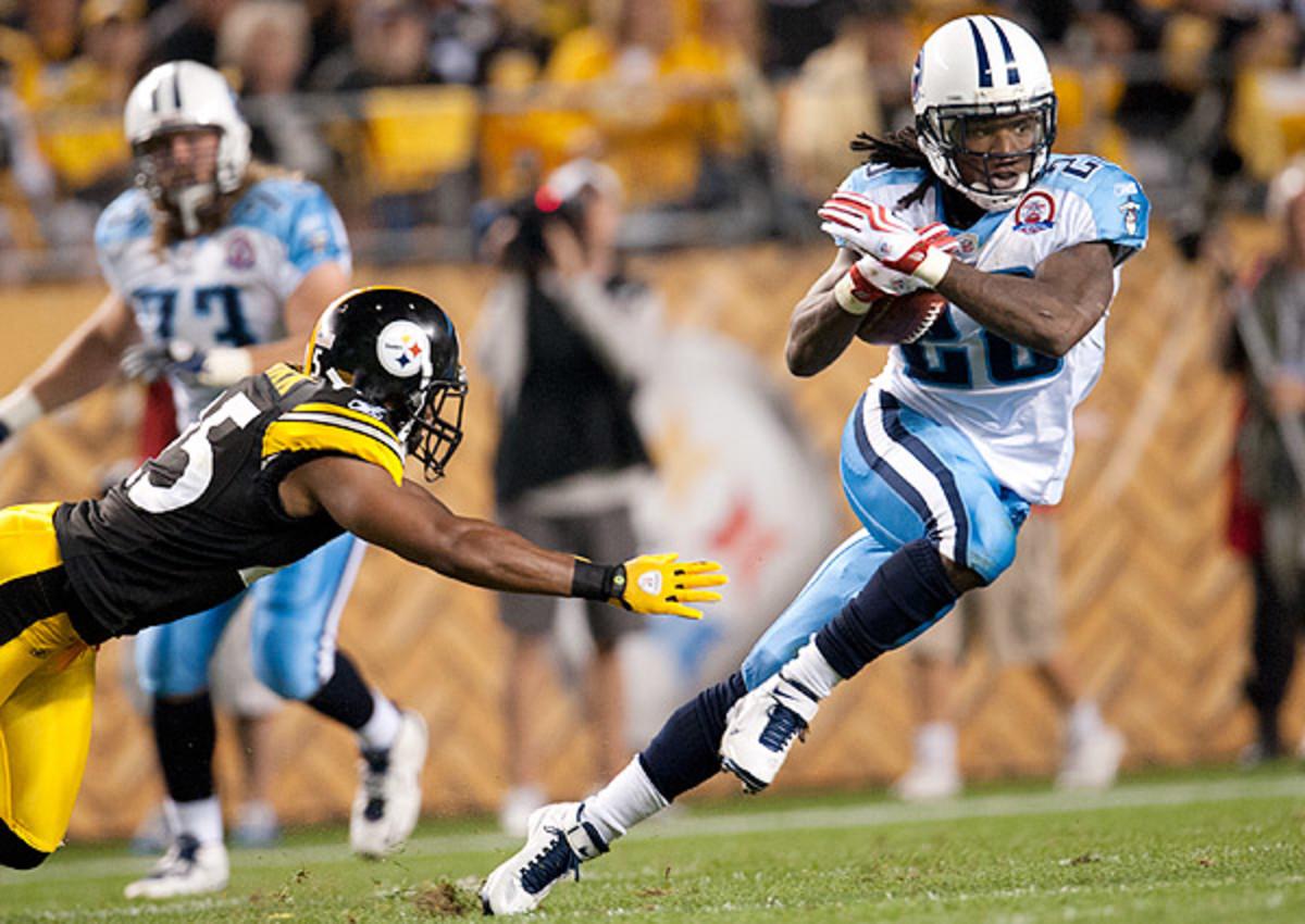 Chris Johnson rumors: New York Jets, Denver Broncos among possible landing spots for ex-Titans RB