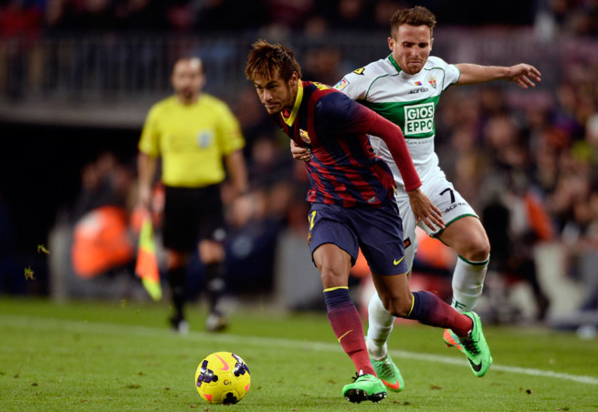 Barcelona has revealed the contract details involving the transfer for Neymar a day after club president Sandro Rosell resigned because of a legal investigation regarding the deal.