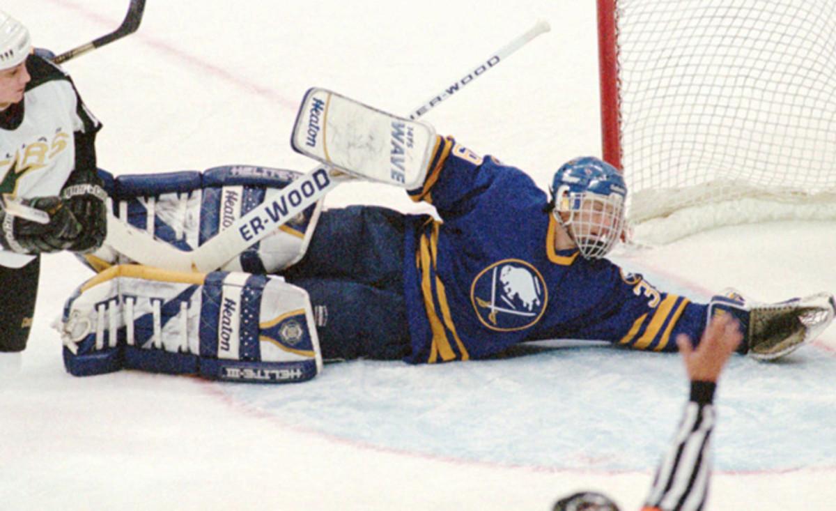 Legendary goalie Dominik Hasek's years in Buffalo were successful as well as tumultuous.