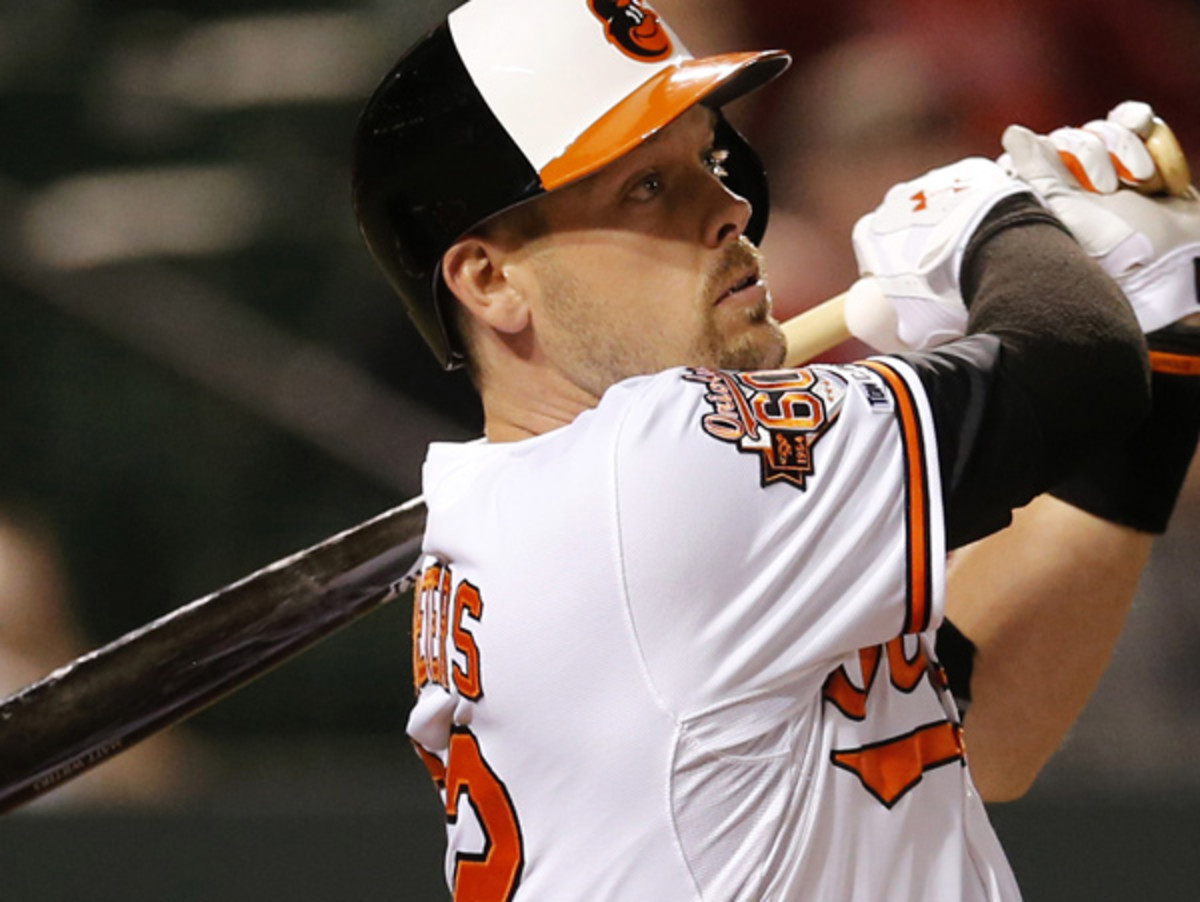 Matt Wieters will miss the rest of the 2014 season after suffering a torn UCL in his elbow. (Patrick Semansky/Getty Images)