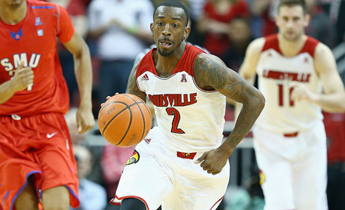 Russ Smith is having his best season as a senior, but his one-dimensional game limits his NBA stock.