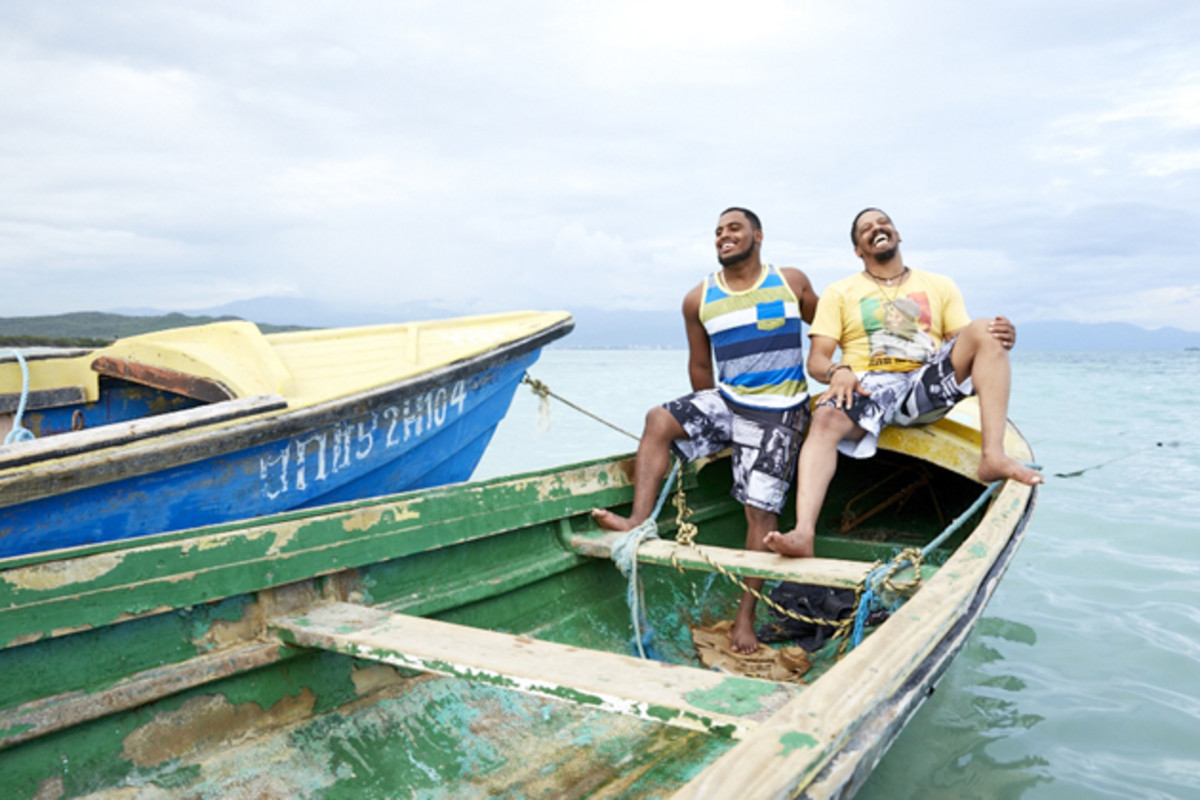 The Marleys gather at Hellshire Beach in Jamaica to get away from the family's fanfare.